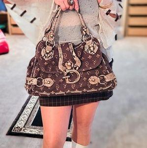 Guess vintage monogrammed handbag